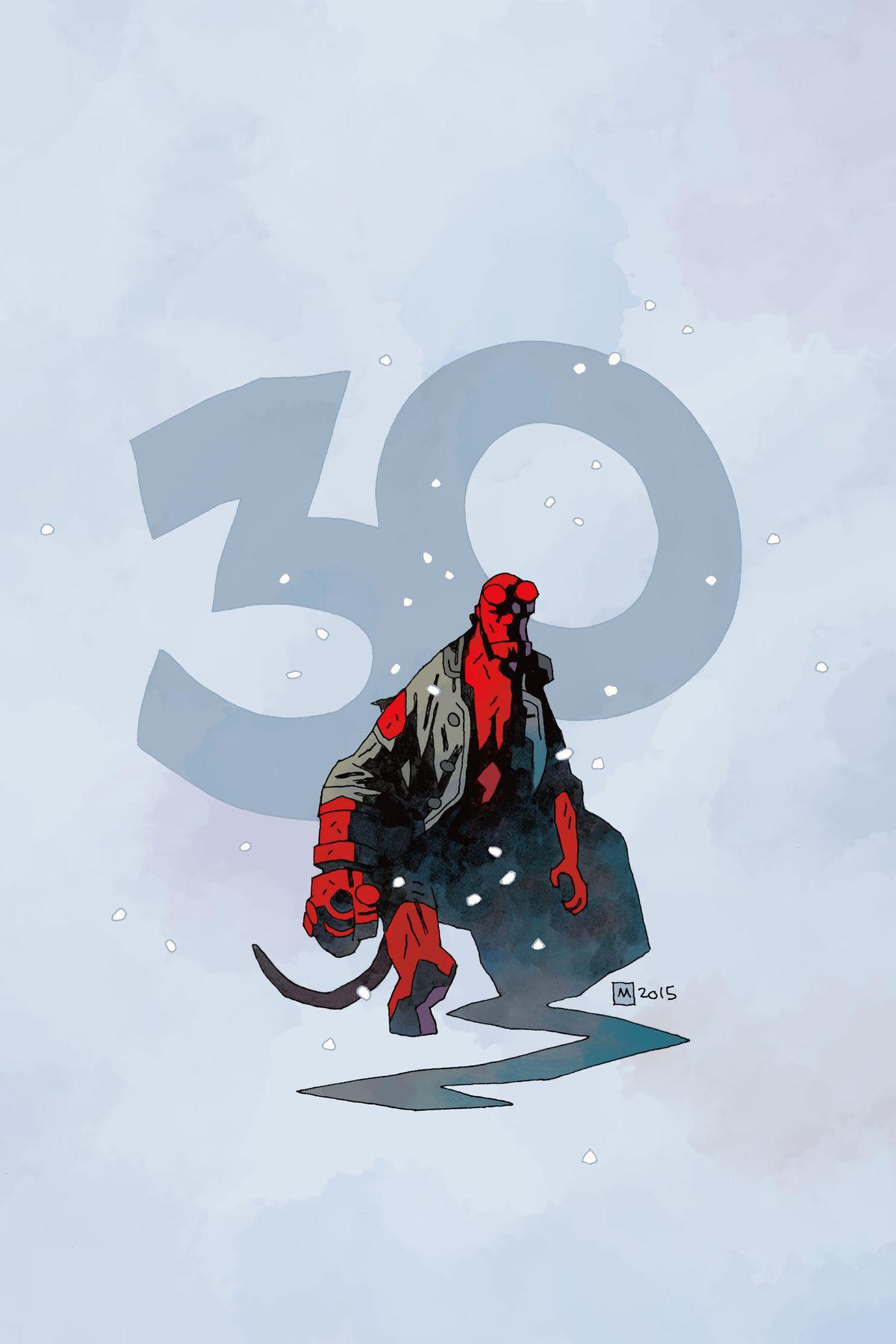 Hellboy Winter Special 2016 30th Anniversary, Dark Horse Comics (2016).