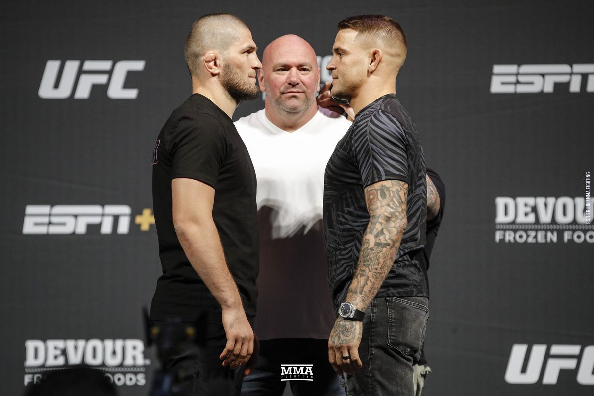 Khabib Nurmagomedov plans to do to Dustin Poirier exactly what he did to Conor McGregor