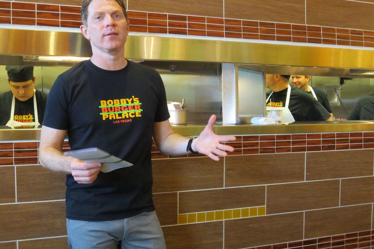Bobby Flay introduces Vegas to Bobby's Burger Palace