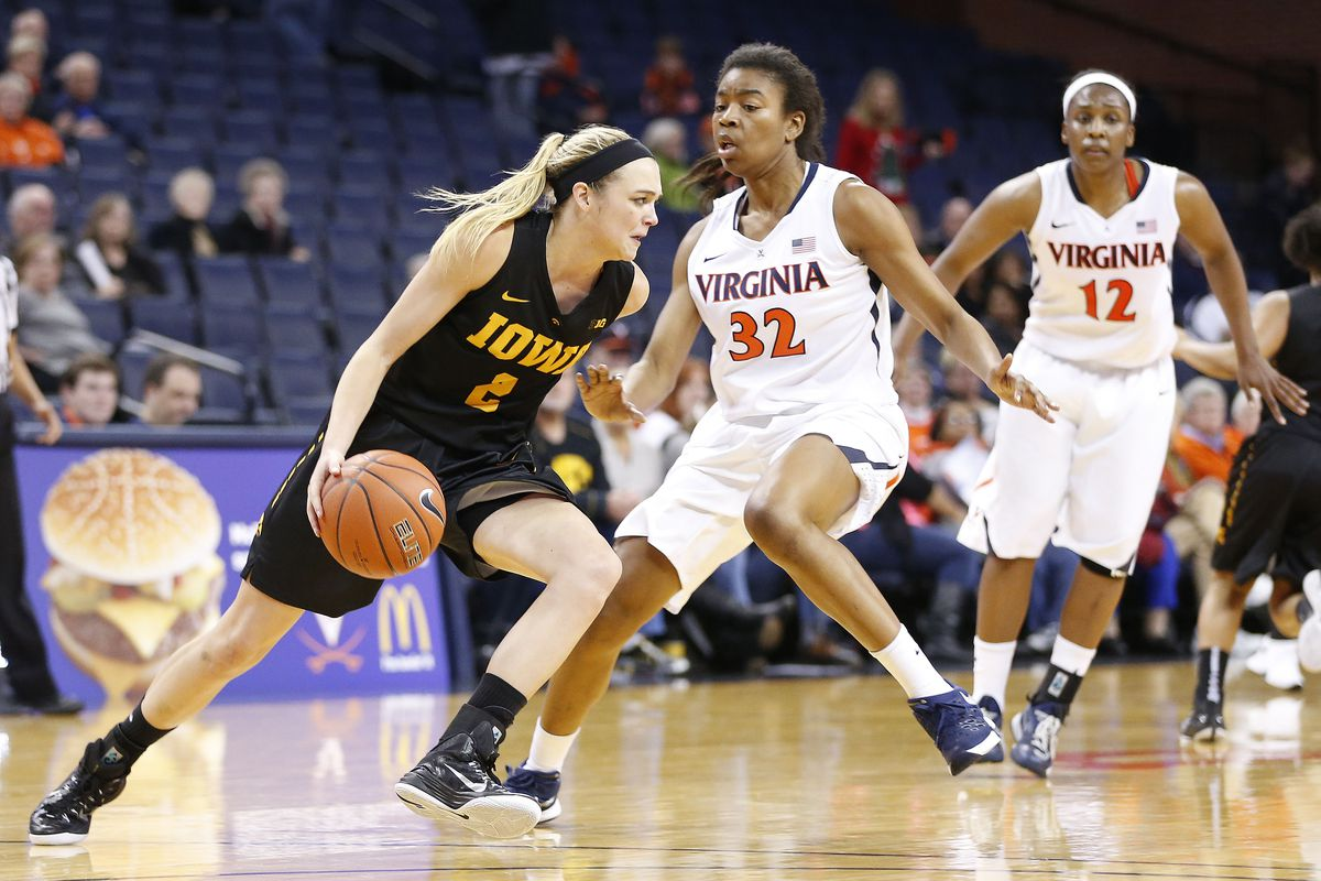 Yes, Iowa played Nebraska, not Virginia.  Photo options are a bit limited.