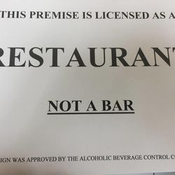 Utah restaurants must display a sign like the one pictured starting May 9, 2017, to comply with a new state law.