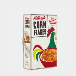 Anya Hindmarch Imperial Corn Flakes Clutch, $1,595
