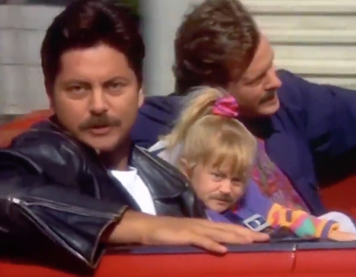 Someone Put Nick Offerman's Face On Every 'Full House