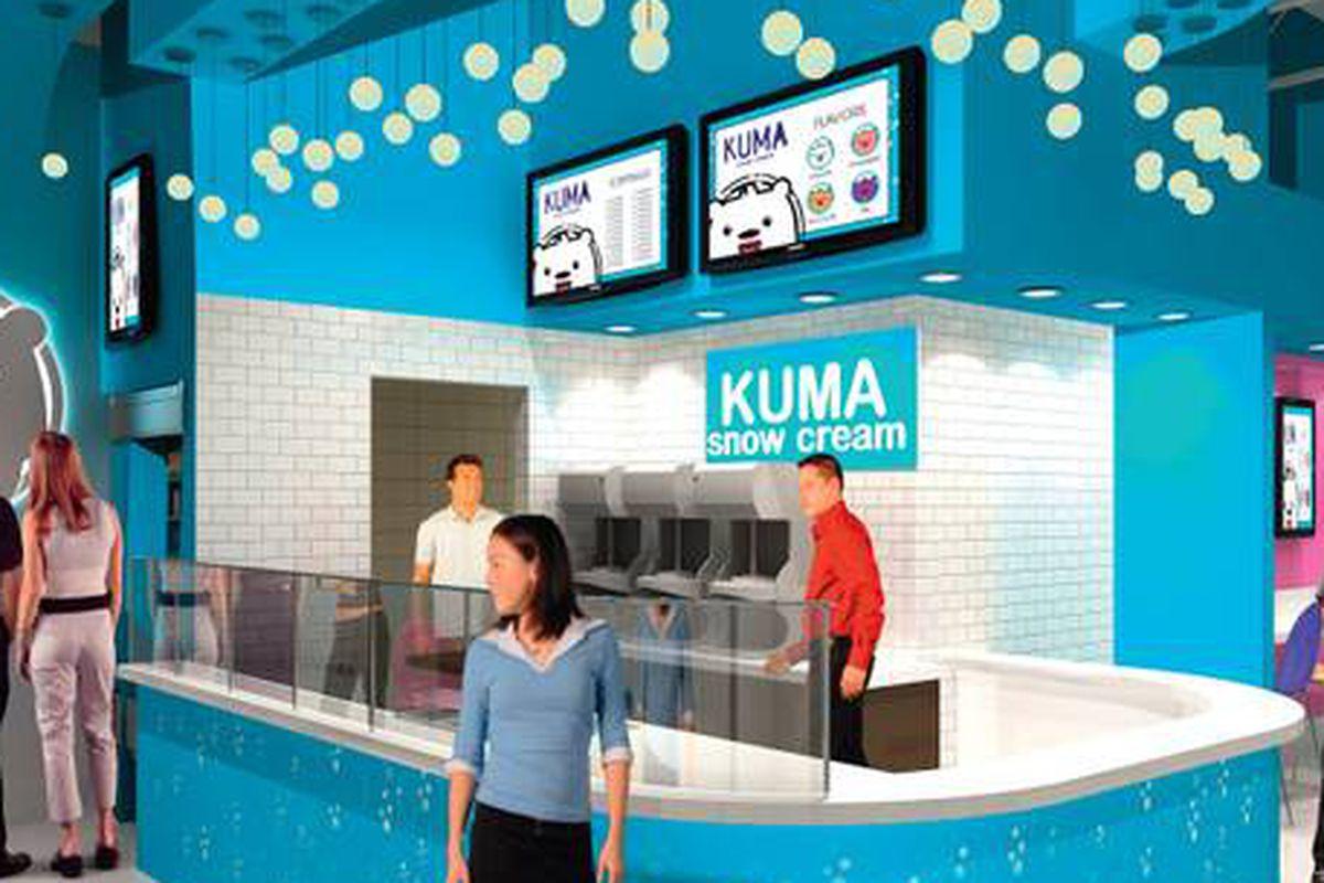 Kuma Snow Cream