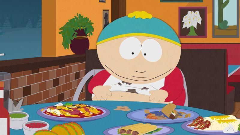 Cartman in the Yelp episode.