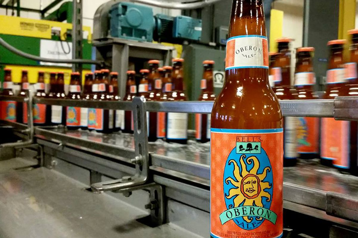 In the 1990s Bell's settled a trademark dispute that forced the company to change their signature beer's name from Solsun to Oberon.