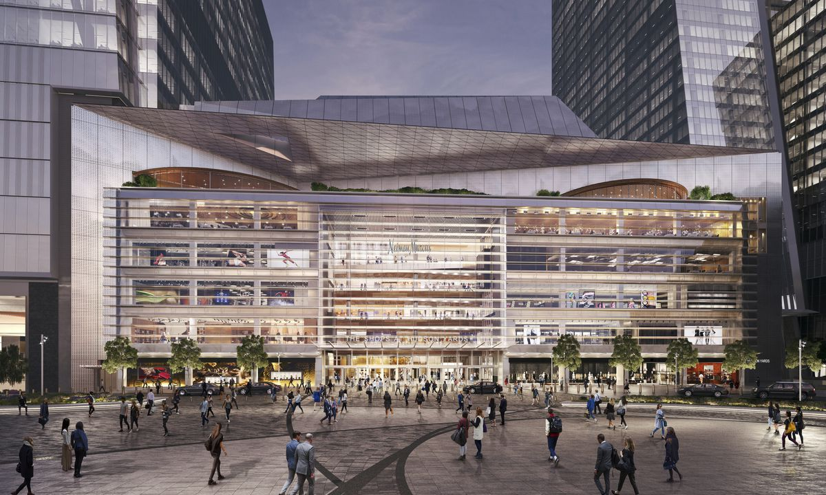Hudson Yards plaza rendering