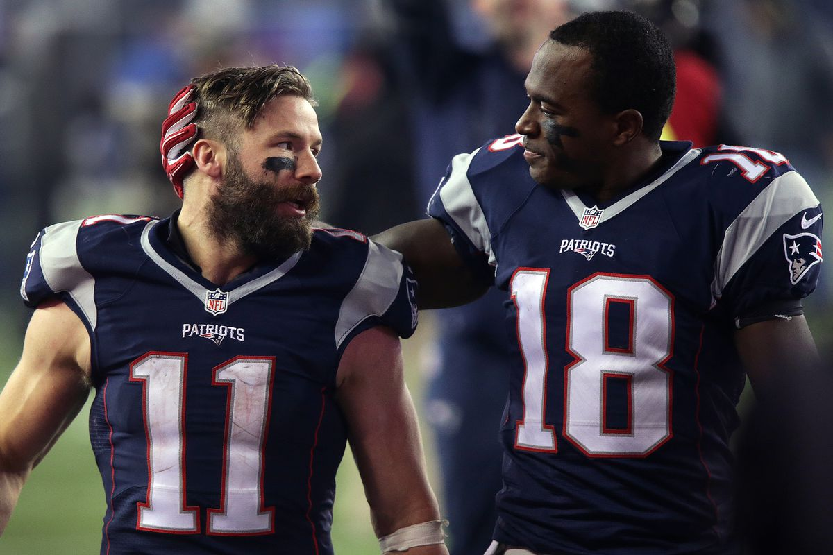 Matthew Slater On Julian Edelman He Doesn T Know The Meaning Of Quit Pats Pulpit