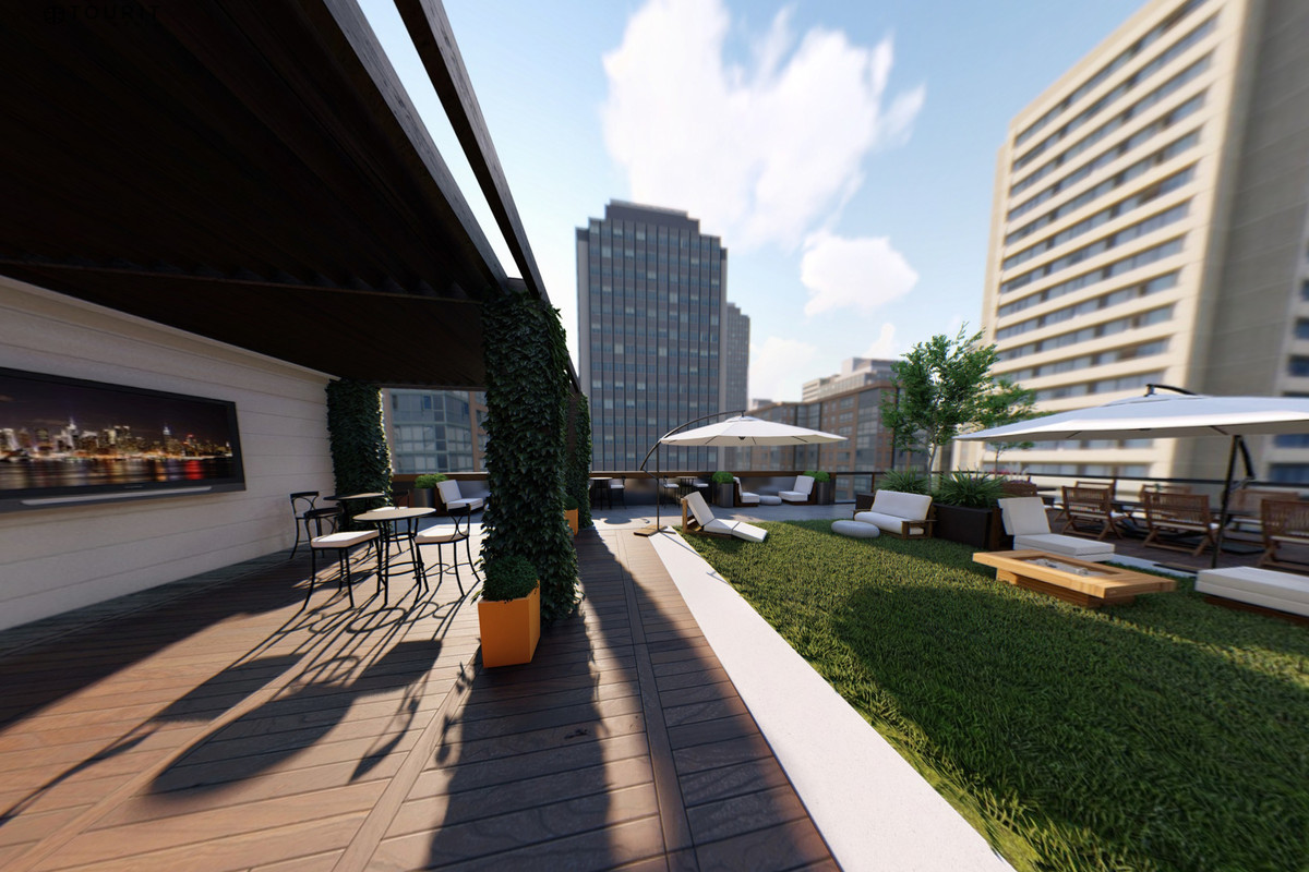 In Midtown Atlanta Coworking Giant Claims Four Floors And Entire Rooftop Of New Tower Curbed Atlanta