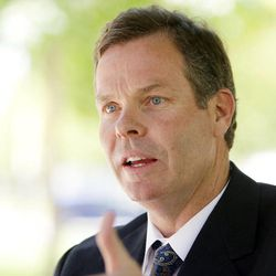 Attorney general candidate John Swallow in Salt Lake City on Thursday, June 14, 2012.