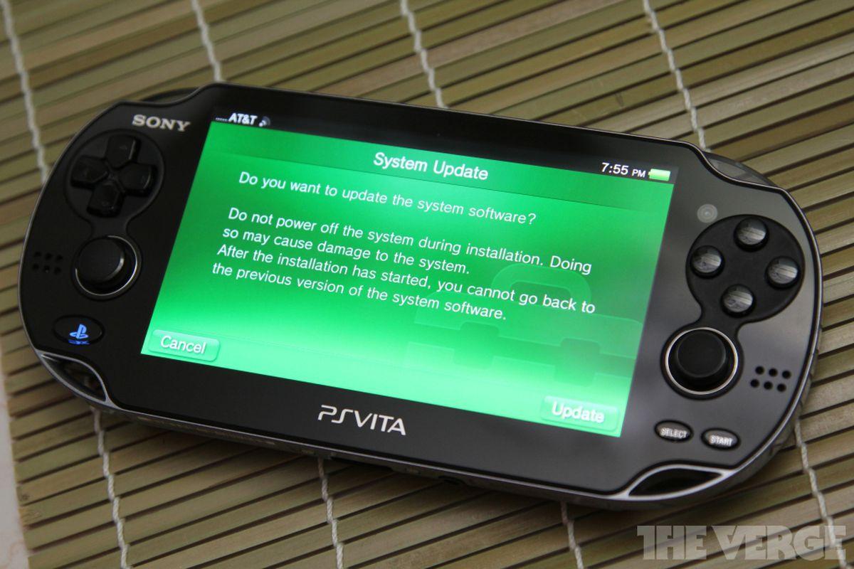 PlayStation Vita system update stock 1024