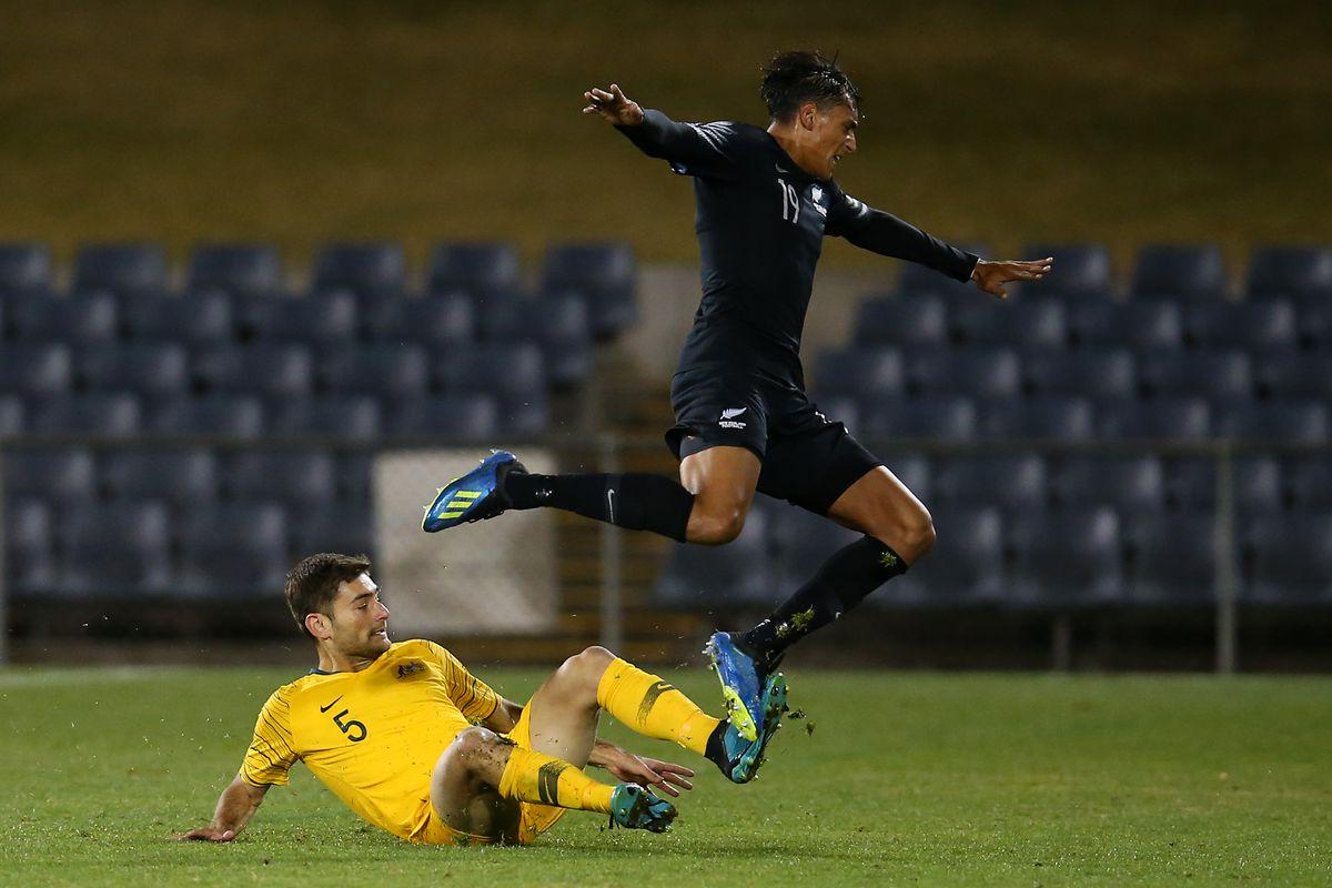 Australia U23 v New Zealand U23