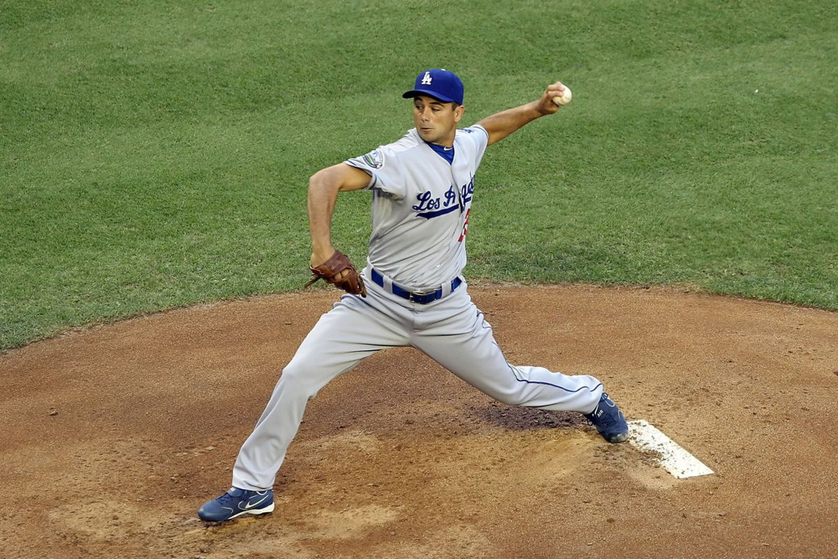 Ted Lilly last pitched for the Dodgers on May 23.