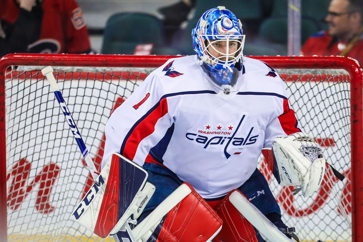 0df46eaba82 Sergei Belski-USA TODAY Sports. The Washington Capitals have re-signed  goaltender Pheonix Copley to a three-year