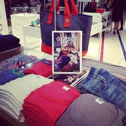 """Cozy tees by LA's <a href=""""http://nsfclothing.com/""""target=_blank"""">NSF</a>."""