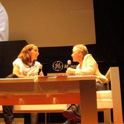 Cookbook author Diana Kennedy with restaurateur Gabriela Cámara.