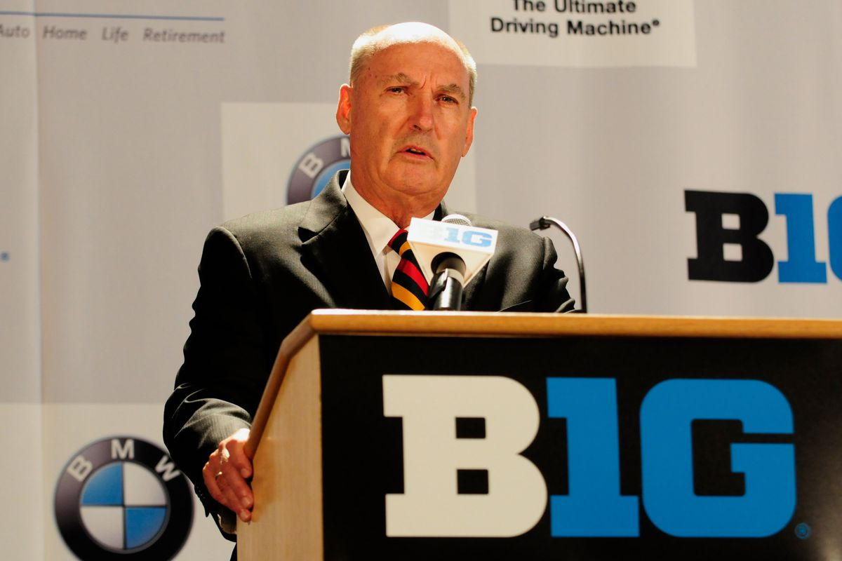 There's no good pictures of Big East commish Val Ackerman, so here's B1G commish Jim Delany.