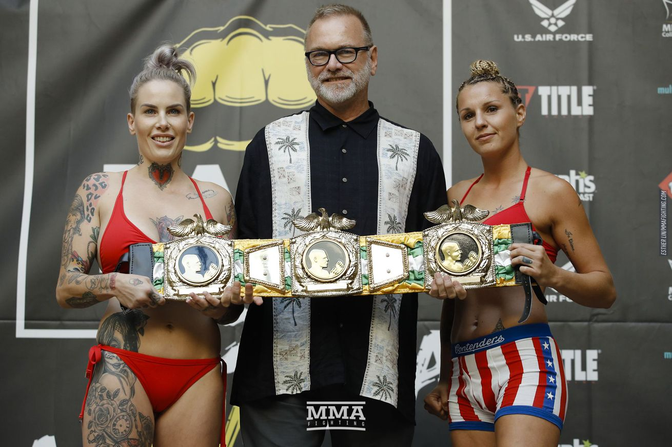 Bec Rawlings and Britain Hart will compete in the Bare Knuckle FC 2 main event Saturday.