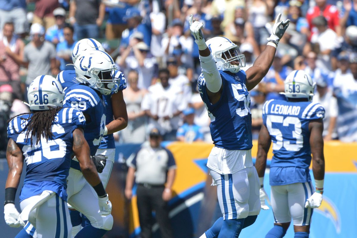 new concept 3d616 abcf1 Indianapolis Colts Rookie Report: Week 2 @Titans - Stampede Blue