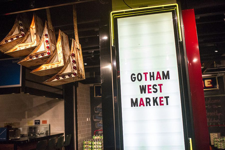 Gotham West Market Floor Plan gotham west market, where all your dreams come true - eater ny