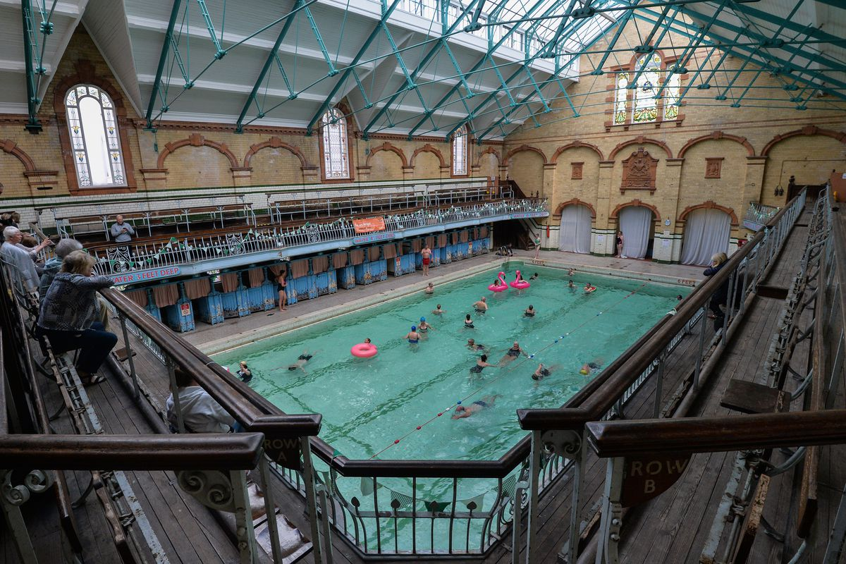The Victoria Baths Hosts Its First Public Swim In 24 Years