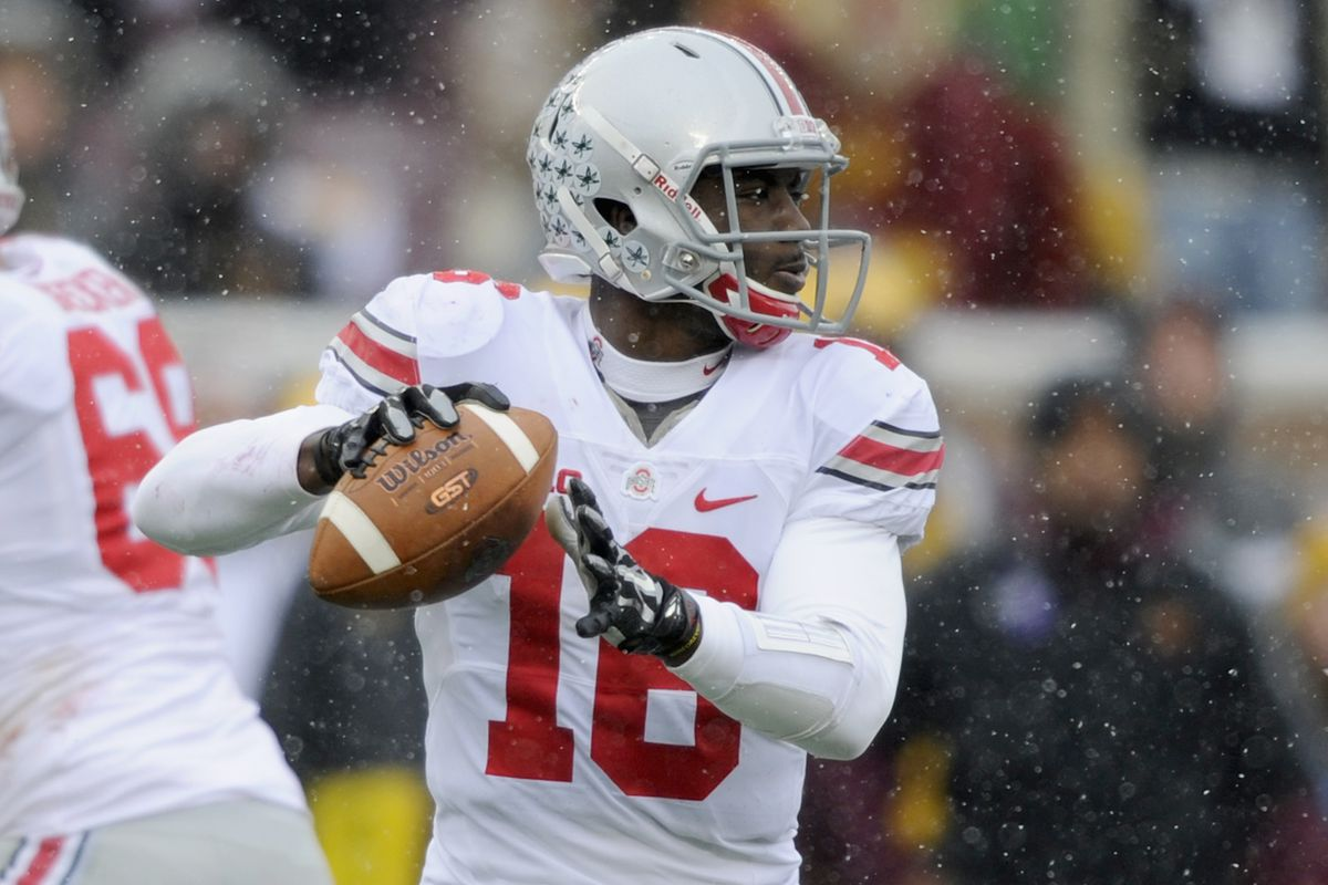 J.T. Barrett has earned yet another award after a great performance against Minnesota.