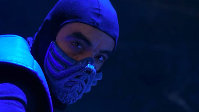 A still of Sub-Zero from the 1995 Mortal Kombat movie