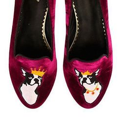 """<a href=""""http://www.cwonder.com/Categories/Shoes/Ballets-%26-Flats/Royal-Terriers-Slipper-Loafer/product/CWAC-FCS-917-H13.html"""">Royal Terriers Slipper Loafers</a>, $138 at C. Wonder"""