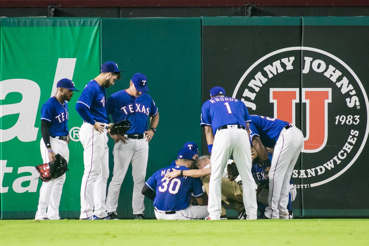 Mazara At Dh Gomez Still Out Today Lone Star Ball