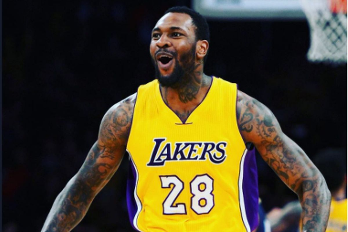 d2ff0531b Tarik Black thanks the Lakers for the opportunity to play for them in  heartfelt Instagram post after being waived