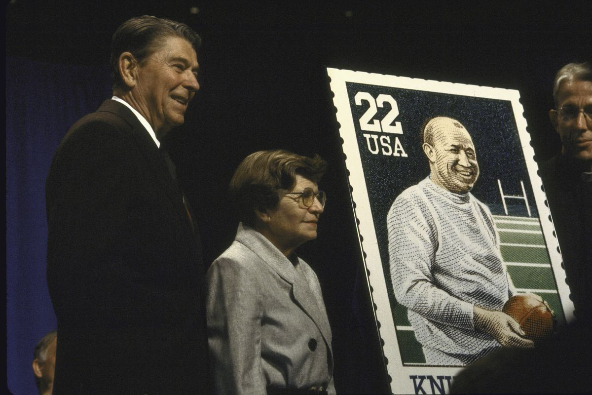 Ronald W. Reagan;Knute Rockne [& Family]
