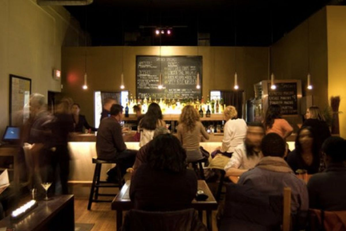 The dining room at Spoon, Westside.