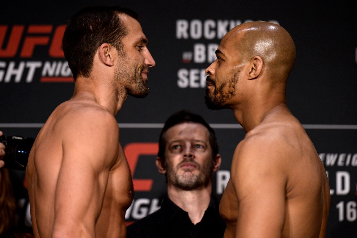 UFC Pittsburgh Results: Rockhold vs. Branch - MMA Fighting UFC Pittsburgh Results: Rockhold vs. Branch