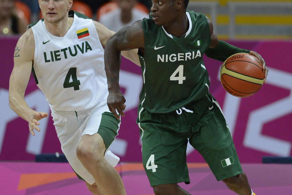 Nigeria's top exports: oil, gas, and sweet ass uniforms. Mandatory Credit: Richard Mackson-USA TODAY Sports