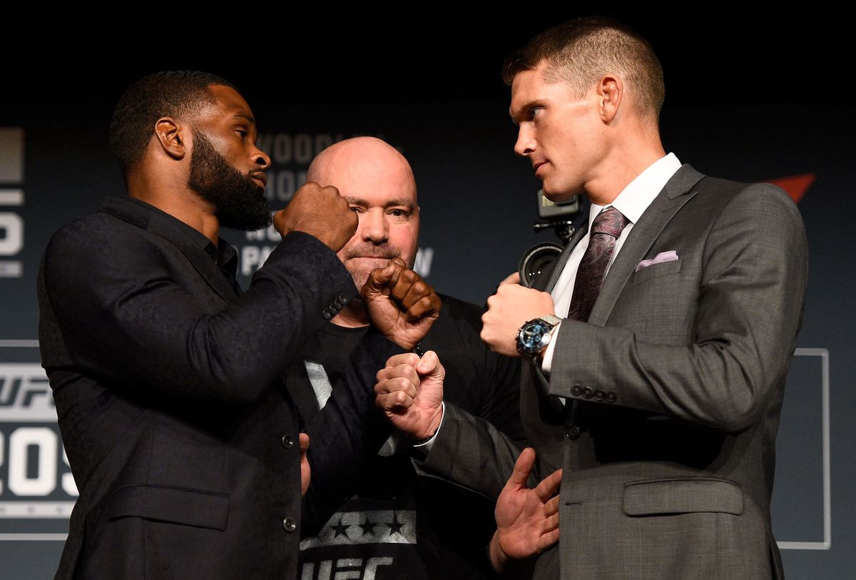 Tyron Woodley and Stephen Thompson (GettyImages)