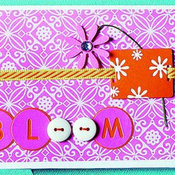 A more advanced greeting card can be made using items found around the house such as buttons. It's not necessary to buy expensive embellishments in order to make cards, but good card-stock paper comes in handy. It's also helpful to make many cards ahead of time so they are on hand when special occasions arise.