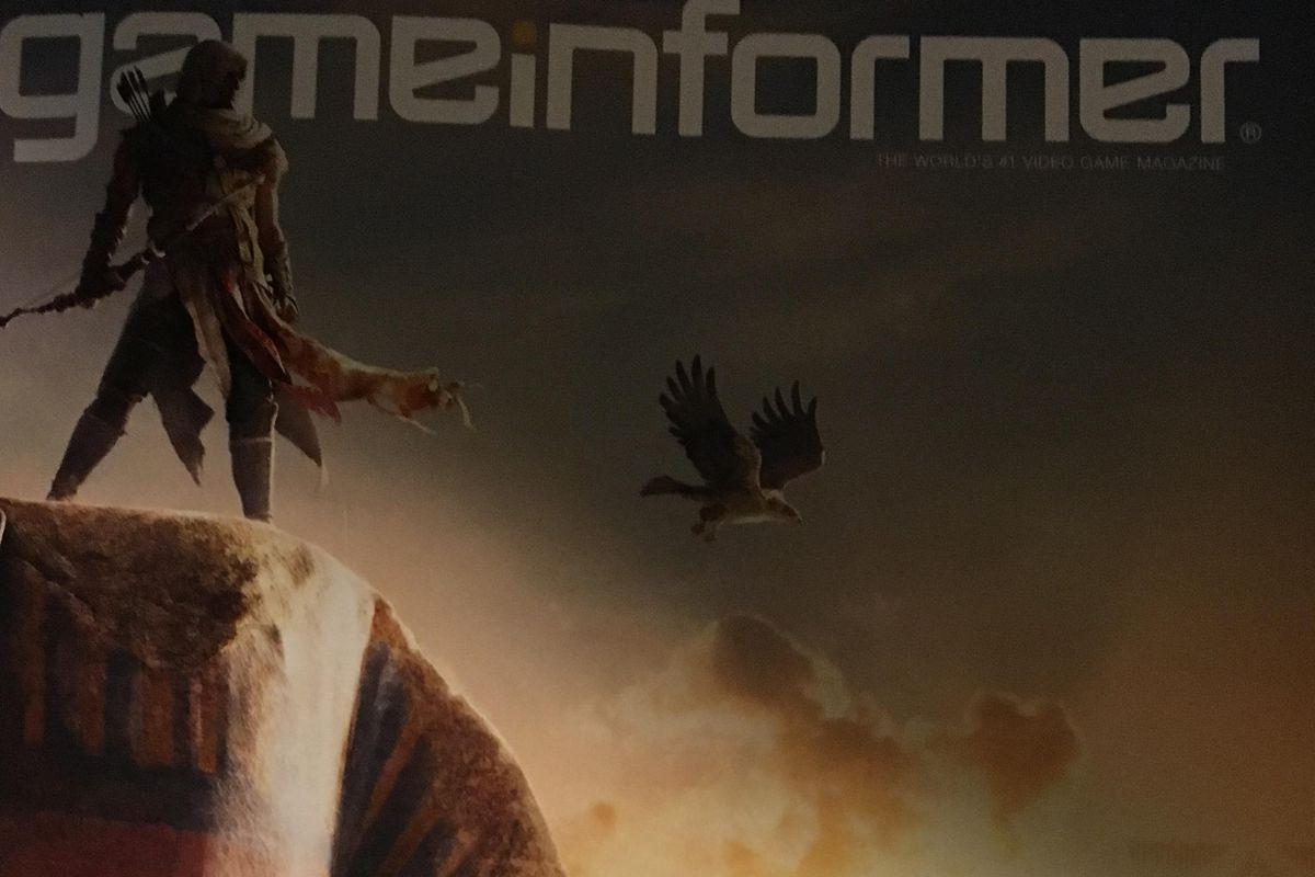 Assassin's Creed Origins Game Informer cover leak
