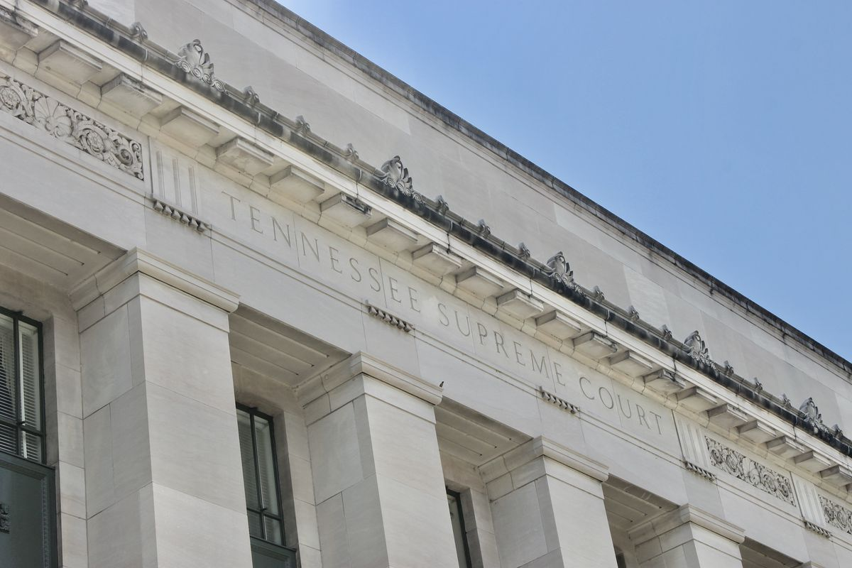 The Tennessee Supreme Court is the state's highest court.