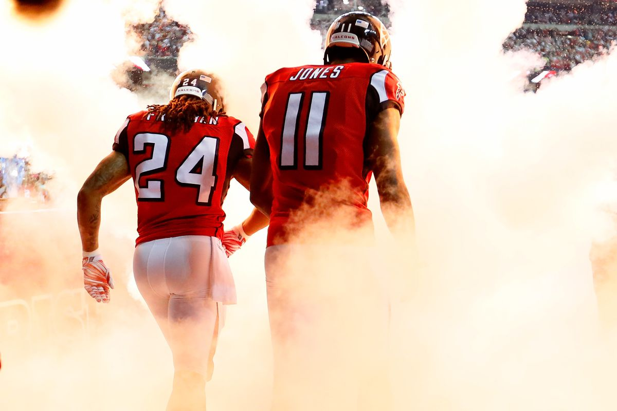Julio Jones and Devonta Freeman have NFL s 1st and 2nd most yards