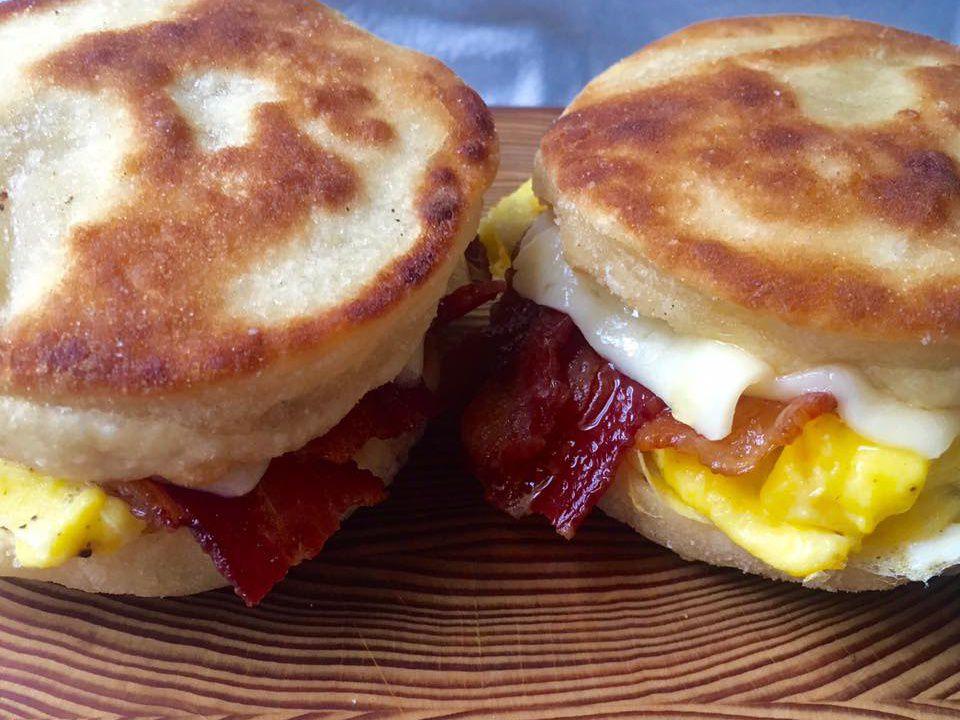 Breakfast sandwich at Junction [Photo: Facebook]