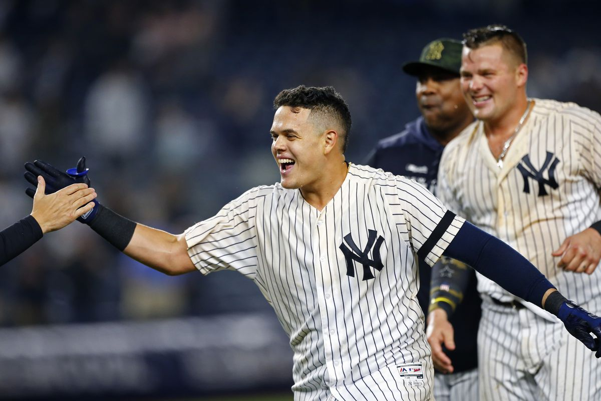 0583a3c1e5a How Gio Urshela is finding success with the Yankees - Pinstripe Alley
