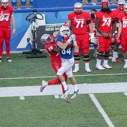 SJS Spartan wide receiver Bailey Gaither (84)