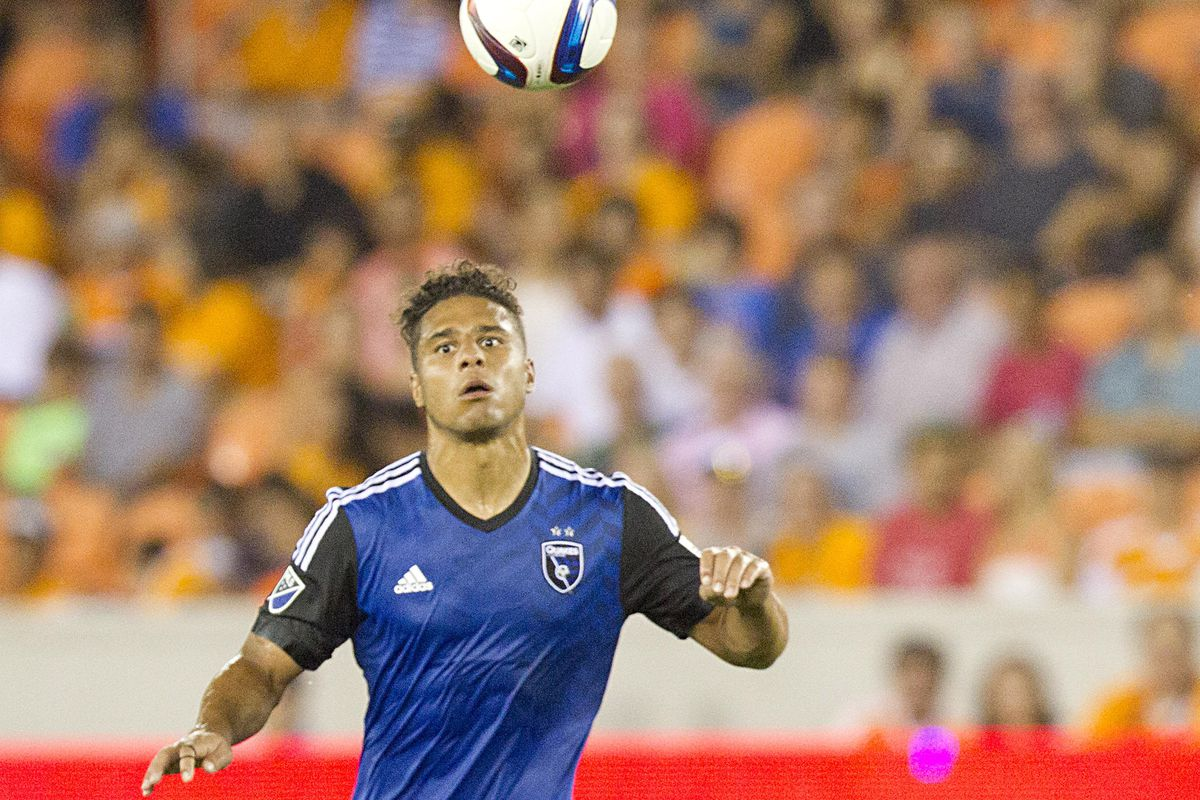 Quincy Amarikwa has been in good form recently for San Jose Earthquakes