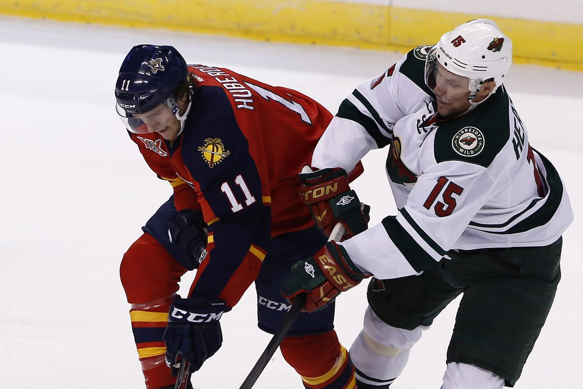 Dany Heatley has struggled badly to start the season. What should the Wild do about it?