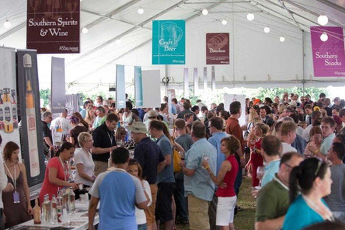 The 2011 Atlanta Food & Wine Festival.