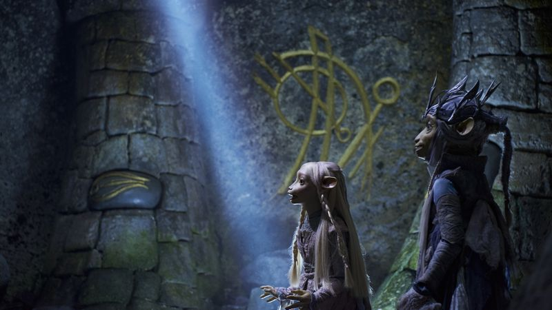 Gelflings in the Jim Henson studio's new Netflix series, The Dark Crystal: Age of Resistance