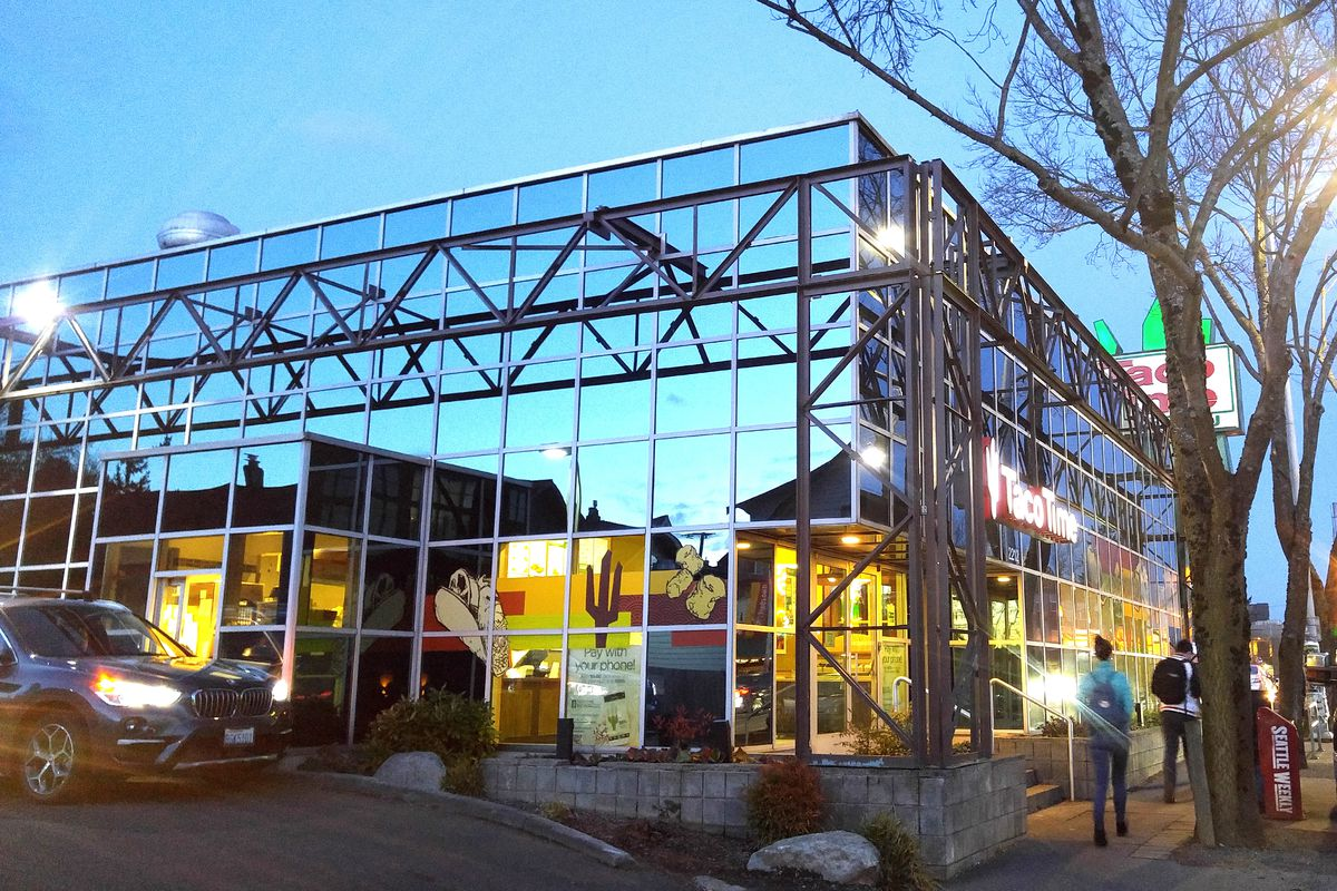 Taco Time-travel back to the '90s at the glass Taco Time in