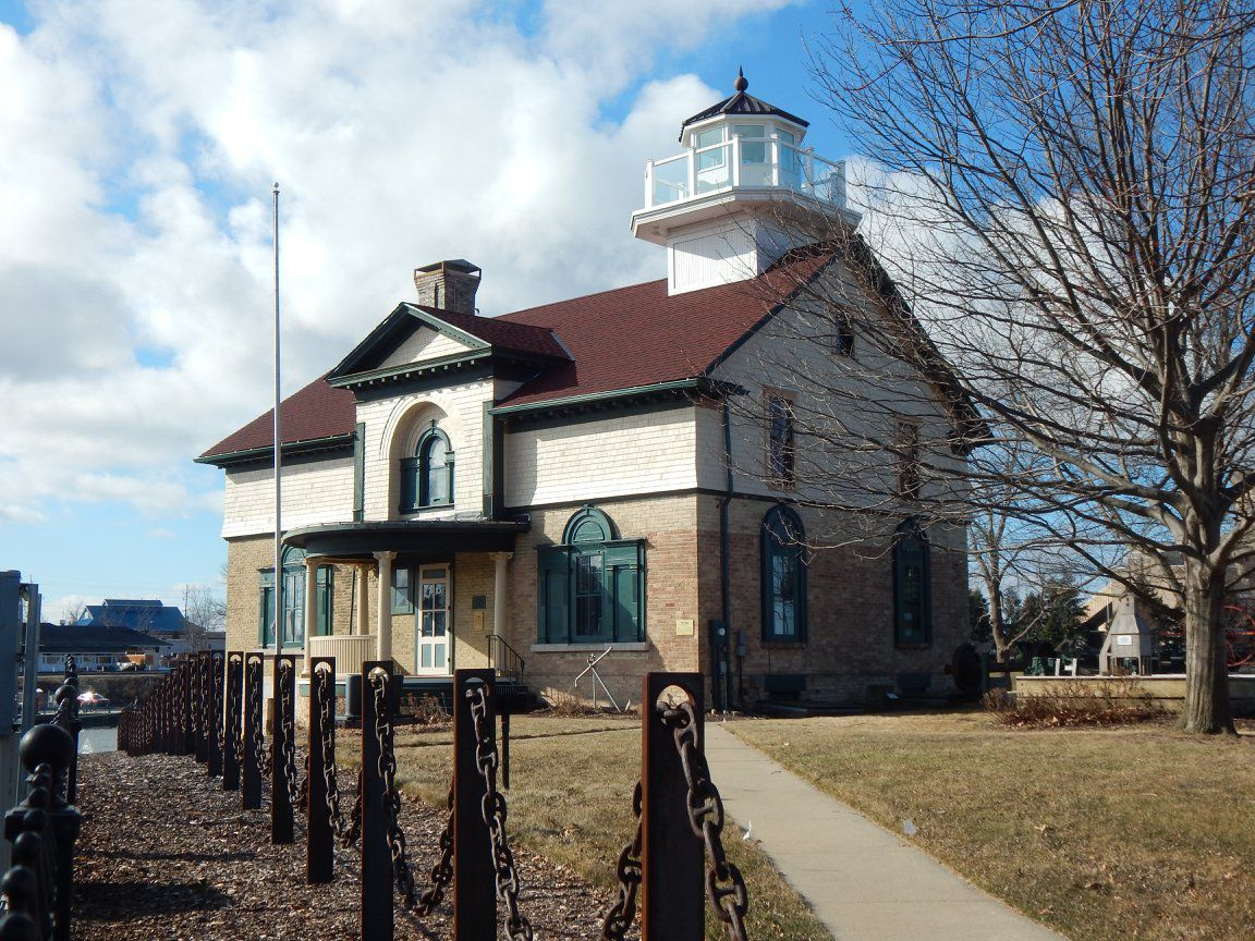 The Michigan City Historical Society's Old Lighthouse Museum.