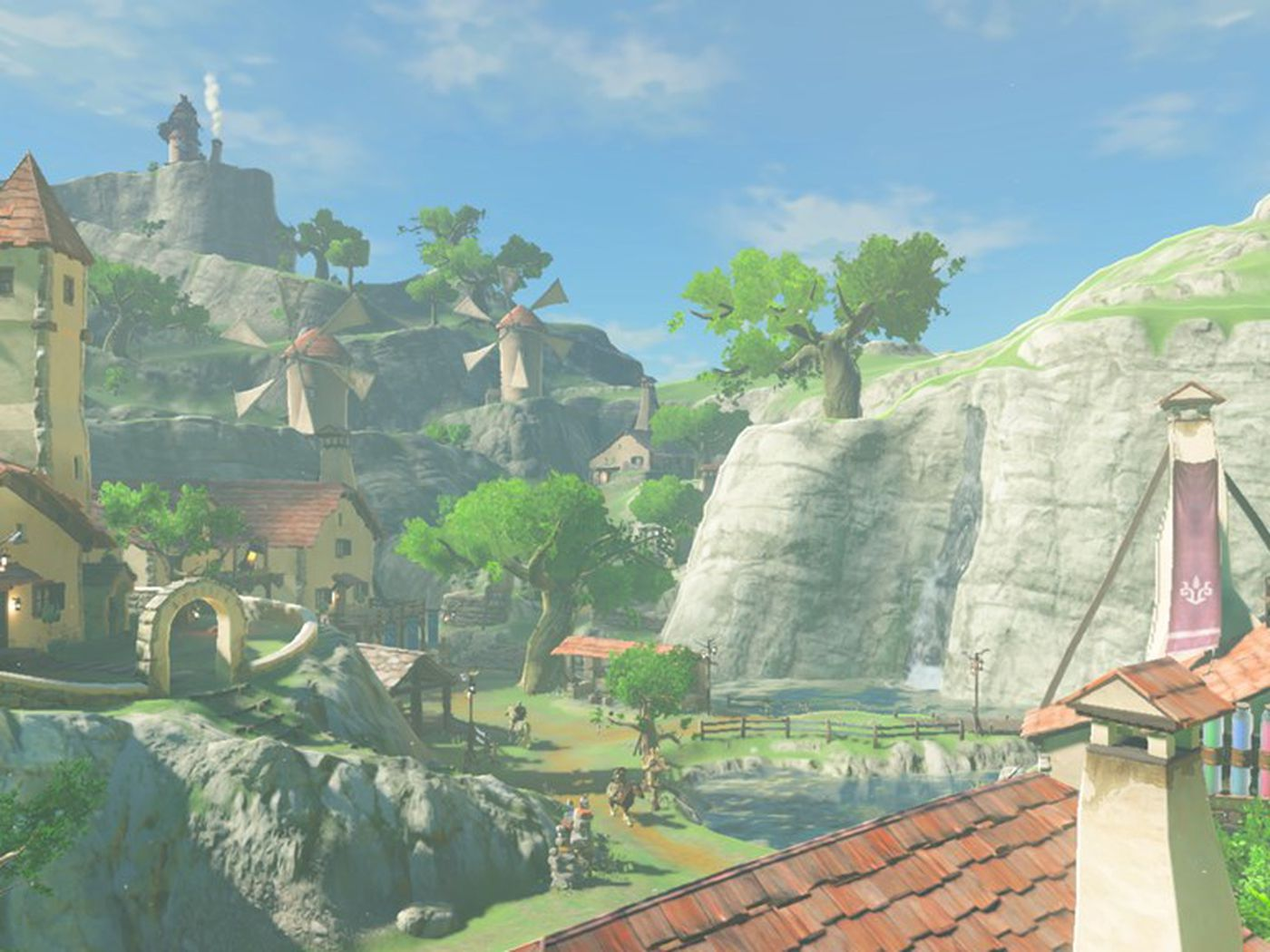 The Legend Of Zelda Breath Of The Wild S Map Is Based On Kyoto The Verge