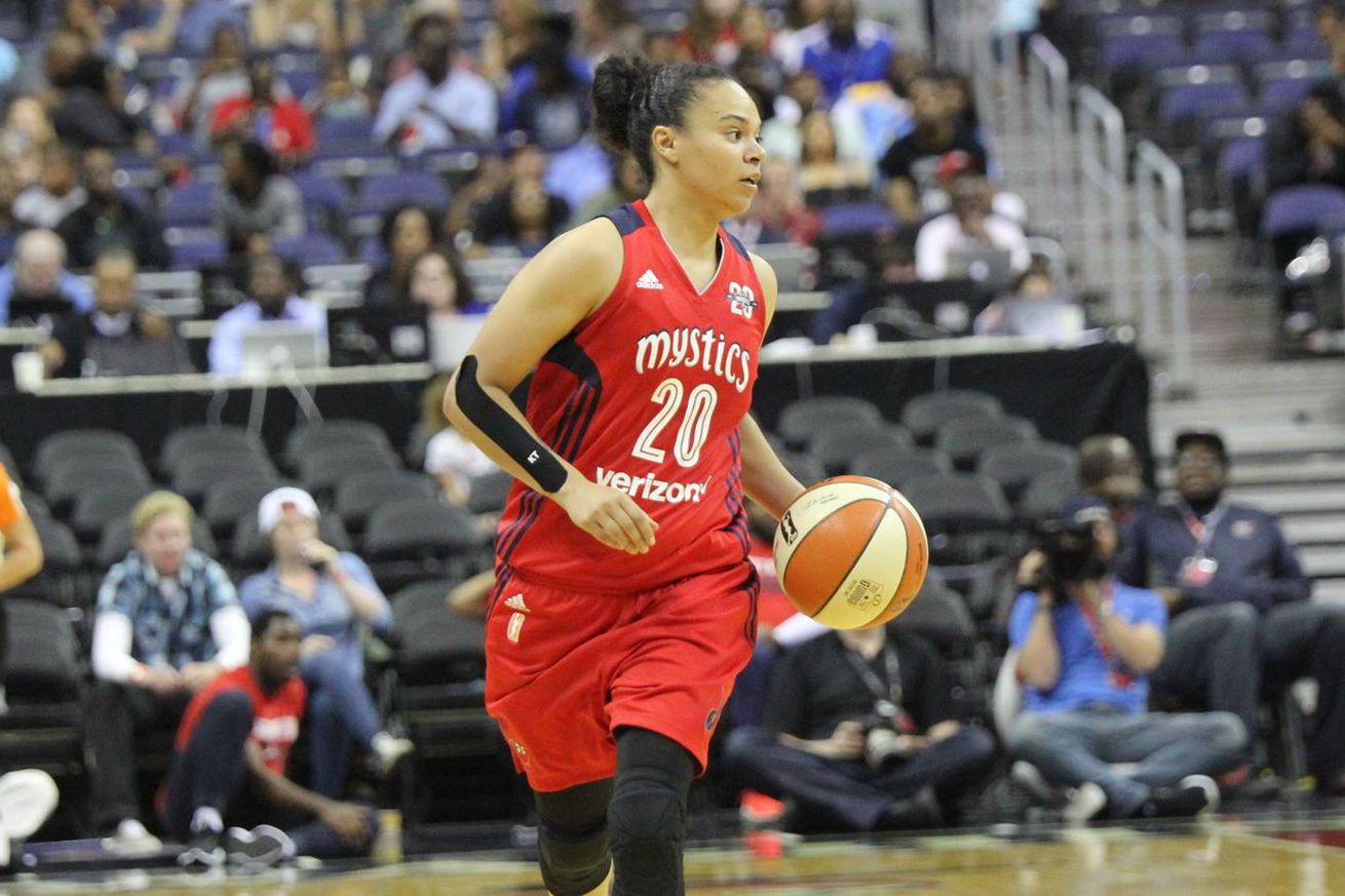 Mystics vs. Dream final score: Washington comes back from 21 point deficit to win in overtime, 100-96